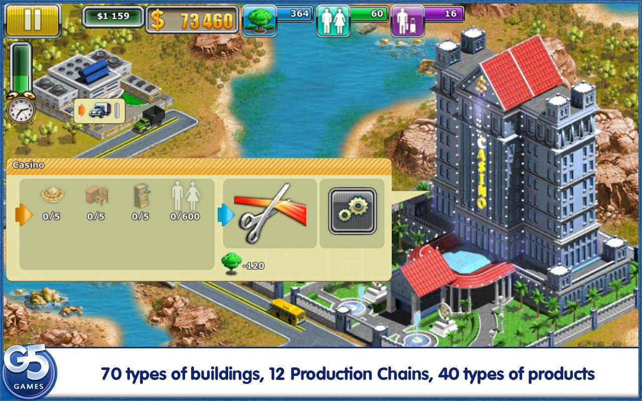 Virtual City®: Paradise Resort - screenshot