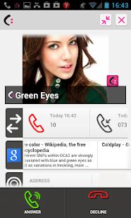 CallmyName -Dialer & Caller ID - screenshot thumbnail