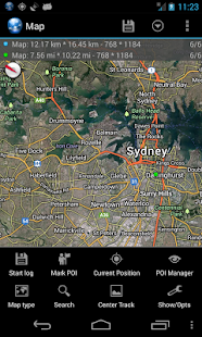 Ultra GPS Logger Screenshot