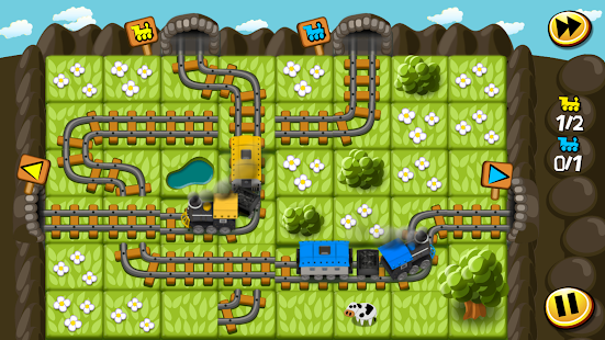Train Tiles Express Puzzle- screenshot thumbnail