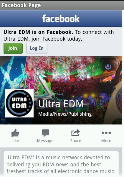 Ultra EDM - screenshot