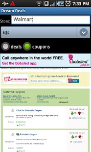 Dream Deals and Coupons- screenshot thumbnail