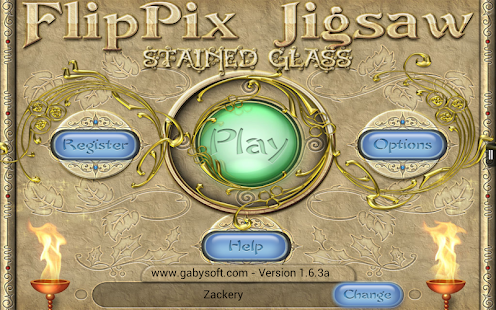FlipPix Jigsaw - Stained Glass- screenshot thumbnail