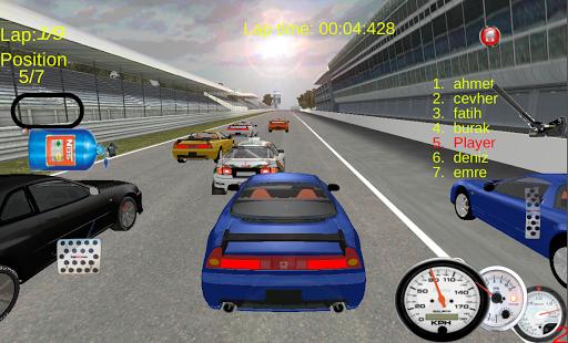 渦輪增壓賽車遊戲3D
