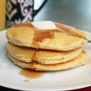 Homemade Gluten-Free Pancakes.