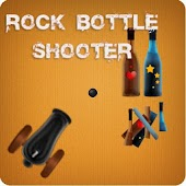 Rock Bottle Shoot Game Free