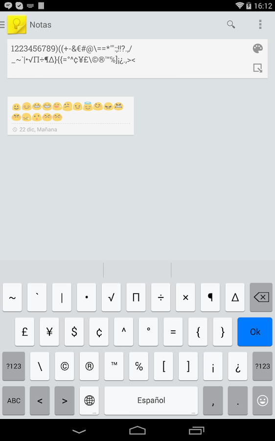 Emoji Keyboard - Spanish Dict- screenshot