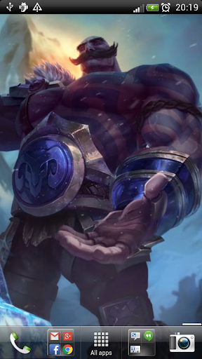 LoL Braum Live Wallpaper