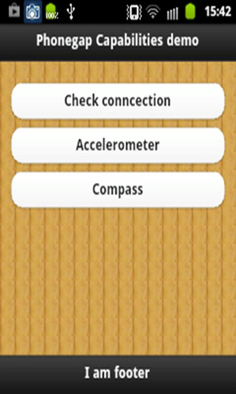 Phonegap Demo new- screenshot