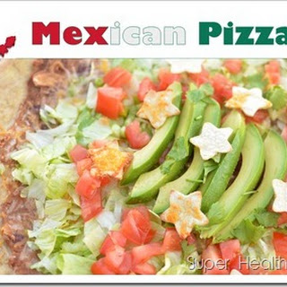 Fresh Mexican Pizza for Healthy Kids.