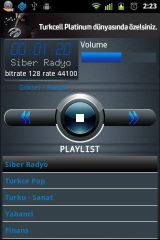 Siber Radyo- screenshot