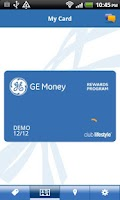 Screenshot of GE Money