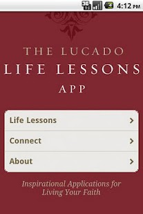 Lucado Life Lessons - screenshot thumbnail