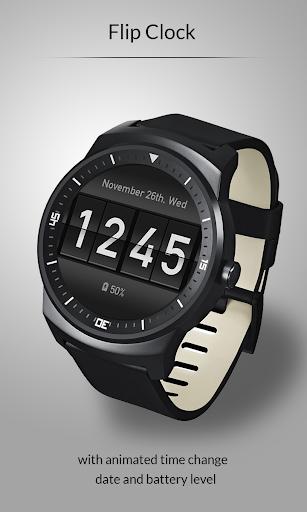 【免費個人化App】Flip Clock Watch Face-APP點子