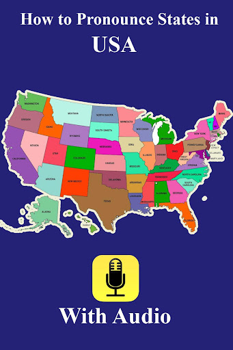 Pronounce States in USA Audio