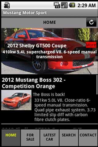 Mustang Motorsport Free
