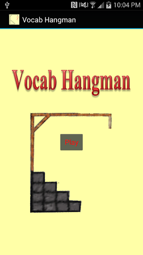 Vocab Hangman