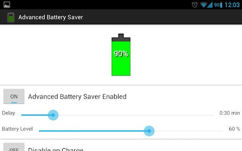 Advanced Battery Saver - screenshot thumbnail
