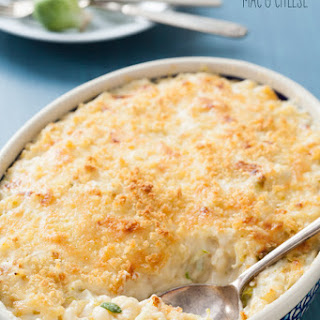 Brussels Sprout Mac 'n Cheese.