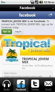 Radio Jovem Tropical- screenshot thumbnail