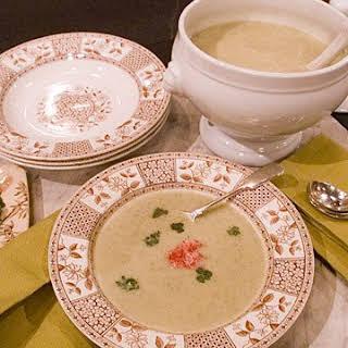 Radish Greens Soup.
