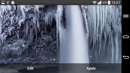 Frozen Waterfall LWP 2.0 screenshot 2081472