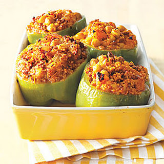 Mediterranean Stuffed Peppers.