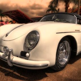 Porsche Speedster by David Kawchak - Transportation Automobiles ( classic porsche, porsche speedster convertible, porsche, porsche speedster, classic porsche speedster )