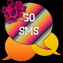GO SMS - Skull Swirl icon