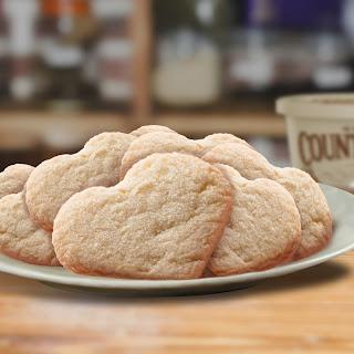 Cranberry Lemon Sugar Cookies