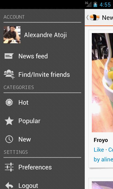 Foodlove - Typical Cuisine - screenshot