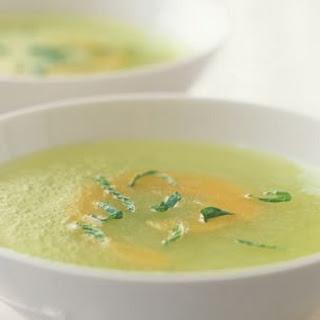 Swirled Melon Soup