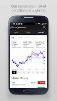 Screenshot of Yahoo Finance
