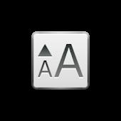 Font size setter - No ad