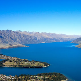 Queenstown NZ by J Delos Santos - Uncategorized All Uncategorized ( mountains, queenstown, beautiful landscapes, landscapes, new zealand,  )