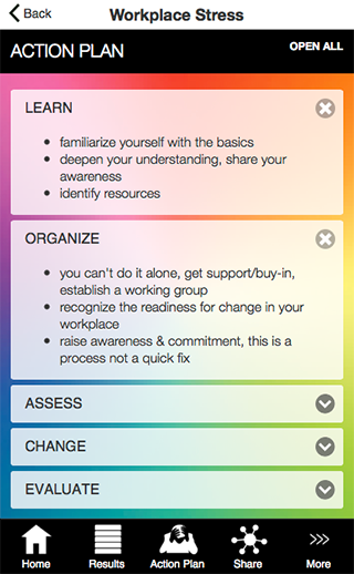 Measure Workplace Stress- screenshot