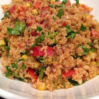 Spanish Quinoa Pilaf