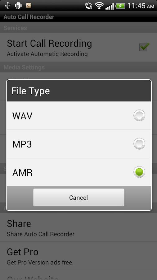 Call Recorder Free- screenshot