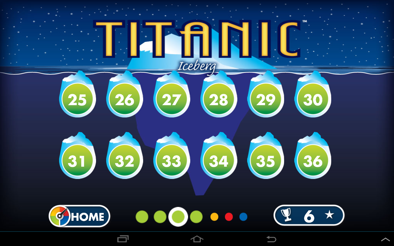 Titanic Lite by SmartGames- screenshot