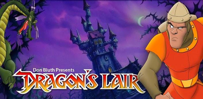 Dragon's Lair - игра в диснеевском стиле