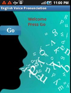 English Voice Pronunciation