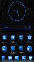 Screenshot of Slick Launcher Theme Blue