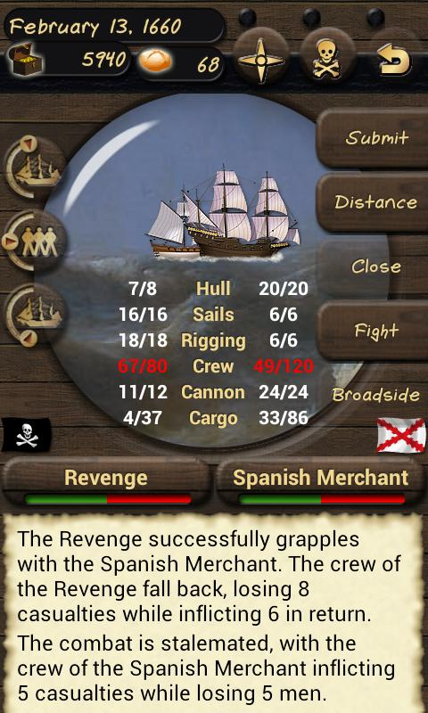 Pirates and Traders- screenshot
