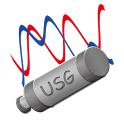 USB signal generator mobile icon