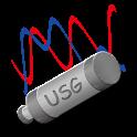 USB signal generator mobile icon