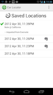 Car Locator Evernote Plugin- screenshot thumbnail