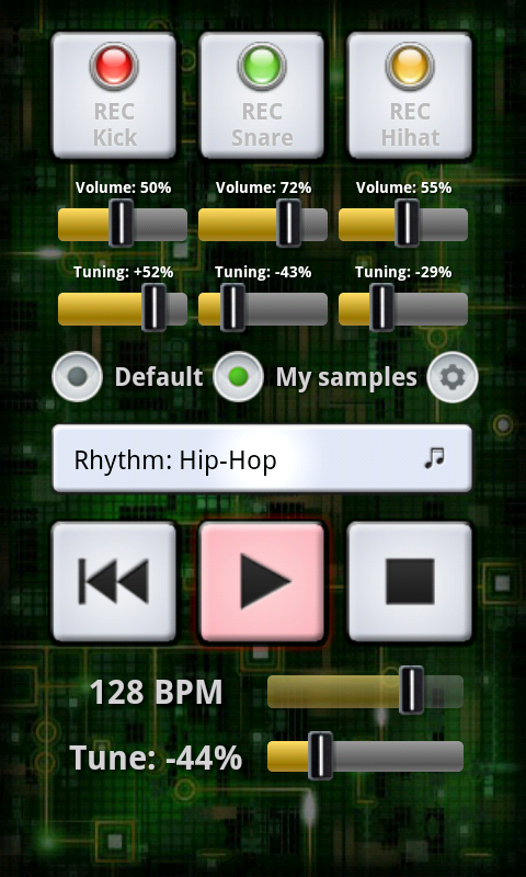 My BeatBox- screenshot
