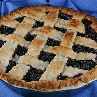 Wild Huckleberry Pie.