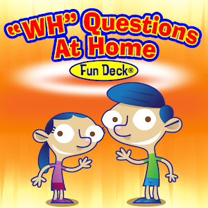 WH Questions At Home Fun Deck