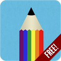 Rainbow Draw Free icon